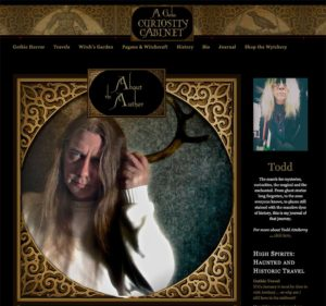 A Gothic Curiosity Cabinet: Correcting a blogging mistake a million visitors too late, or why I'm my own worst client