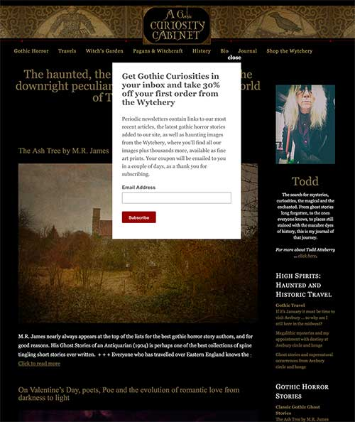 A Gothic Curiosity Cabinet: Correcting a blogging mistake a